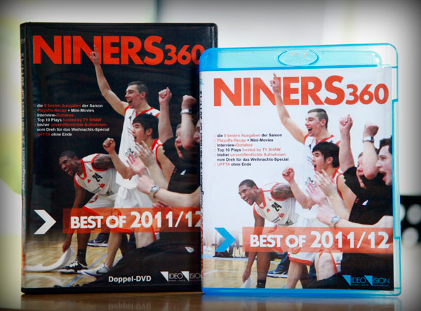 NINERS360 Saison DVD Blu-ray 2011-2012